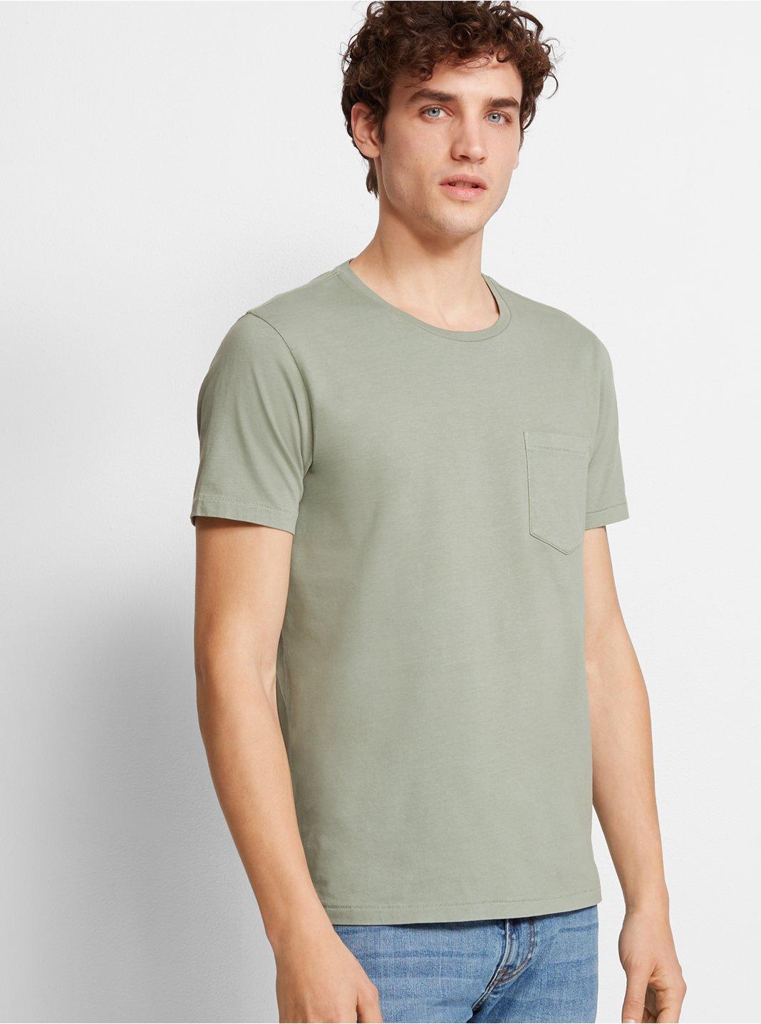 클럽 모나코 맨 Williams 반팔 티셔츠 Club Monaco Williams Garment-Dyed Crew