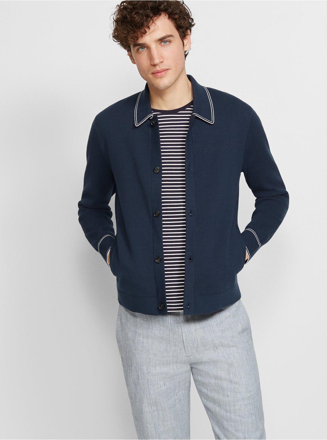 클럽 모나코 Club Monaco Full Milano Jacket,Blue