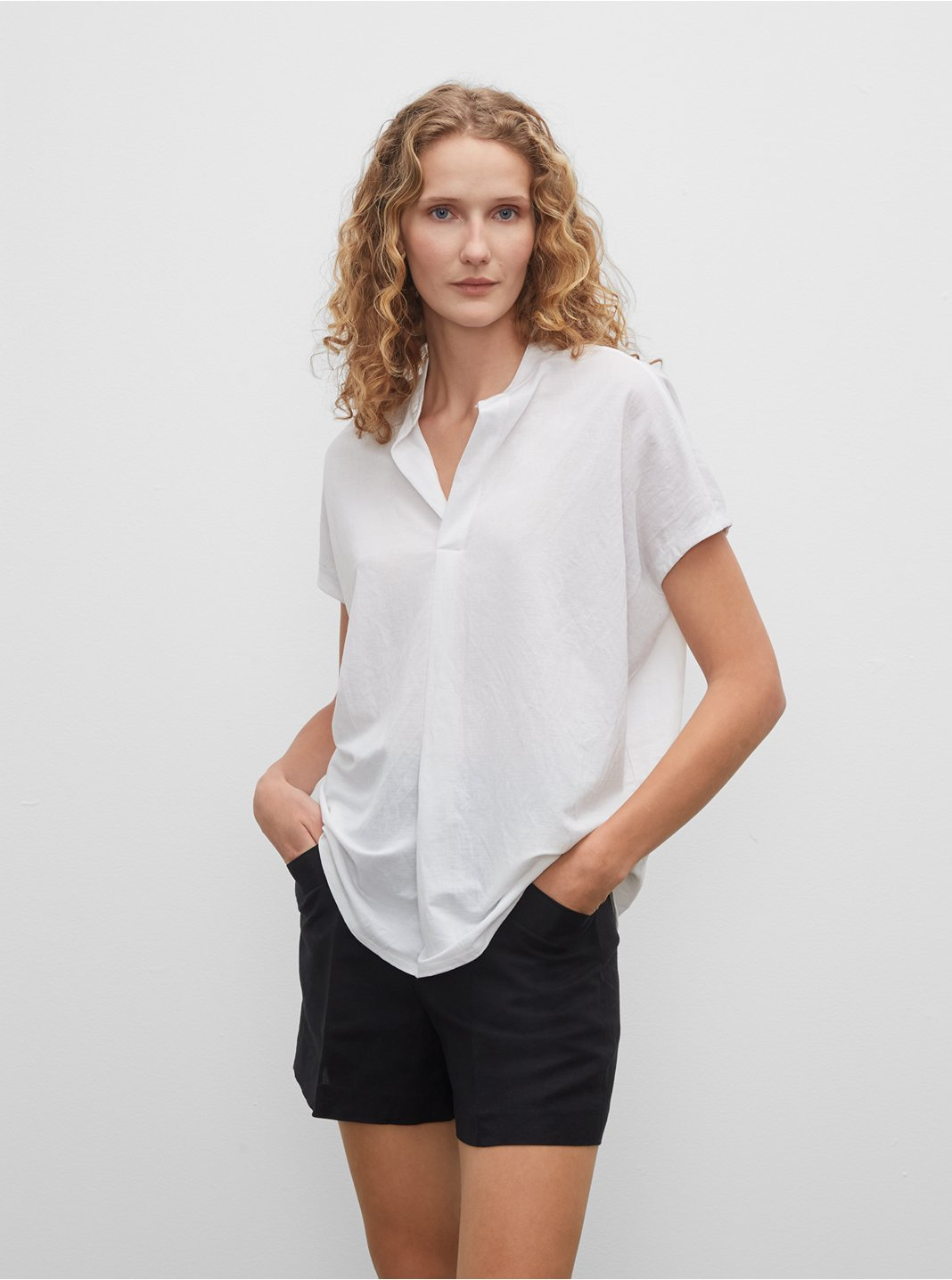 클럽 모나코 Jandina 반팔 티셔츠 Club Monaco Jandina Knit Top