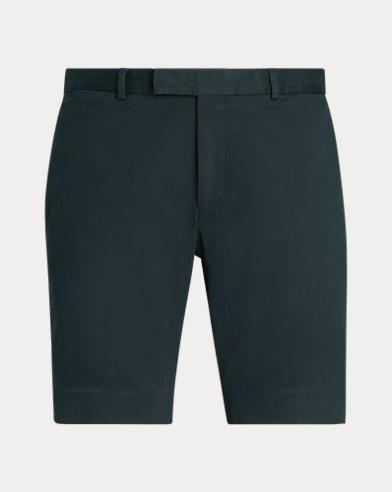 폴로 랄프로렌 Polo Ralph Lauren Slim Fit Stretch Chino Short,Dark Racing Green