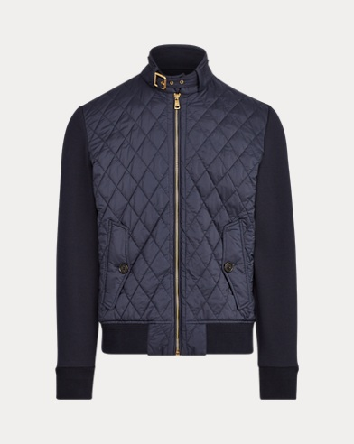 폴로 랄프로렌 Polo Ralph Lauren Quilted Hybrid Jacket,Classic Chairman Navy