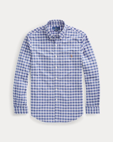 폴로 랄프로렌 Polo Ralph Lauren Slim Fit Plaid Stretch Shirt,Multi