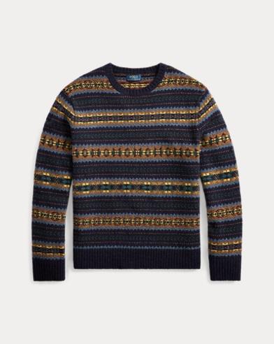 폴로 랄프로렌 Polo Ralph Lauren Fair Isle Wool Sweater,Fairisle