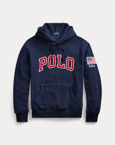 폴로 랄프로렌 Polo Ralph Lauren Polo Fleece Hoodie,Cruise Navy