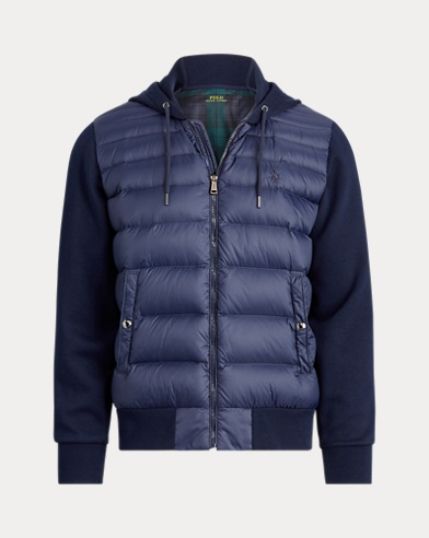 폴로 랄프로렌 Polo Ralph Lauren Hybrid Down Hoodie,Cruise Navy