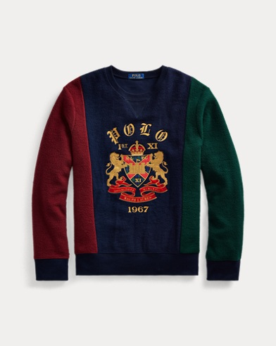 폴로 랄프로렌 Polo Ralph Lauren Crest Fleece Sweatshirt,Cruise Navy Multi