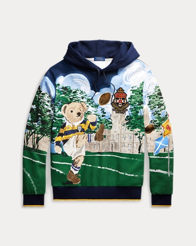 폴로 랄프로렌 Polo Ralph Lauren Kicker Bear Hoodie,All Over Bear Print