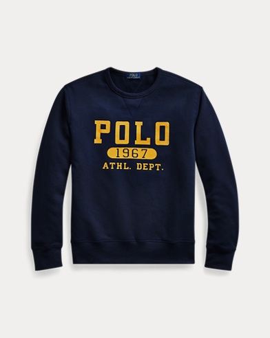 폴로 랄프로렌 Polo Ralph Lauren Fleece Graphic Sweatshirt,Cruise Navy