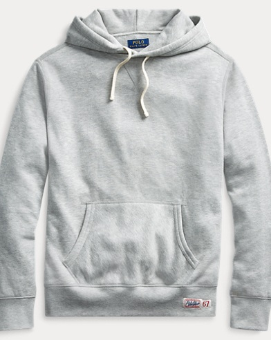폴로 랄프로렌 Polo Ralph Lauren Cotton-Blend-Fleece Hoodie,Andover Heather