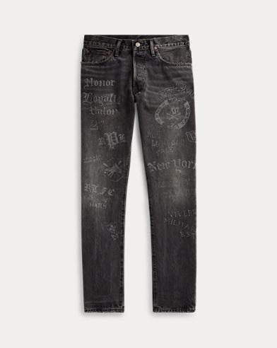 폴로 랄프로렌 Polo Ralph Lauren Sullivan Slim Graphic Jean,Grey