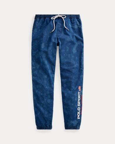폴로 랄프로렌 Polo Ralph Lauren Polo Sport Denim Track Pant,Blue