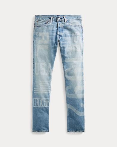 폴로 랄프로렌 Polo Ralph Lauren Varick Slim Straight Jean,Blue