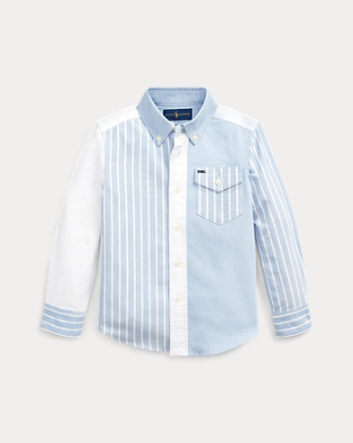 폴로 랄프로렌 Polo Ralph Lauren Cotton Oxford Fun Shirt,Blue Multi