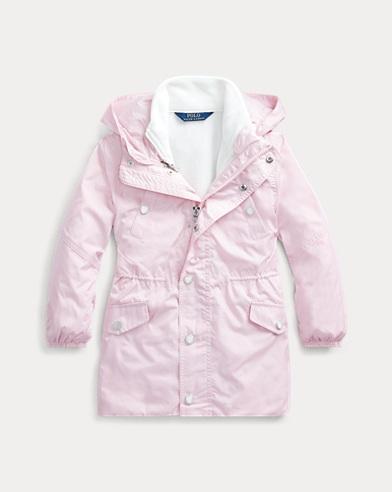 폴로 랄프로렌 여아용 코트 Polo Ralph Lauren 3-in-1 Coat,Hint Of Pink