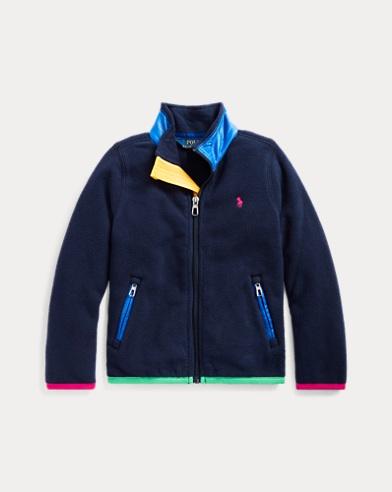 폴로 랄프로렌 여아용 자켓 Polo Ralph Lauren Polar Fleece Jacket,French Navy