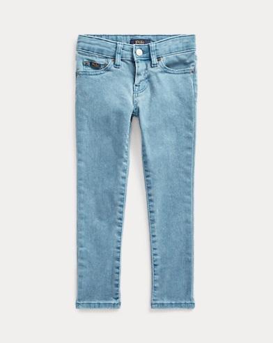 폴로 랄프로렌 여아용 스키니 청바지 Polo Ralph Lauren Tompkins Skinny Fit Jean,Blue