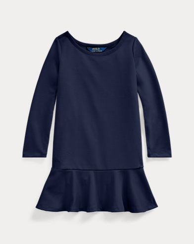 폴로 랄프로렌 여아용 원피스 Polo Ralph Lauren Ponte Drop-Waist Dress,French Navy