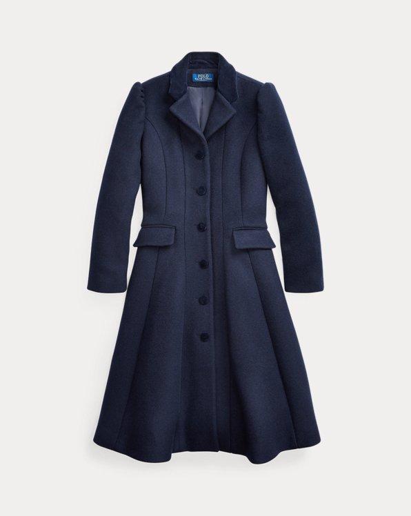 폴로 랄프로렌 걸즈 울 코트 Polo Ralph Lauren Wool-Blend Princess Coat,Wythe Wash