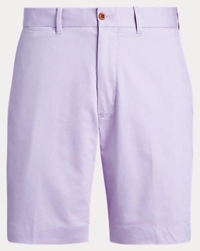 폴로 랄프로렌 Polo Ralph Lauren Classic Fit Chino Golf Short,Powder Purple