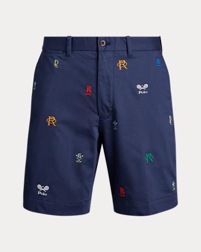 폴로 랄프로렌 Polo Ralph Lauren Classic Fit Embroidered Short,French Navy W Crest Emb