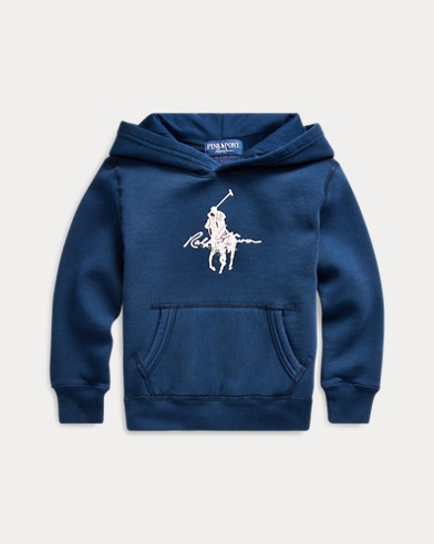 폴로 랄프로렌 남아용 플리스 후드티 Polo Ralph Lauren Pink Pony Fleece Hoodie,Spring Navy