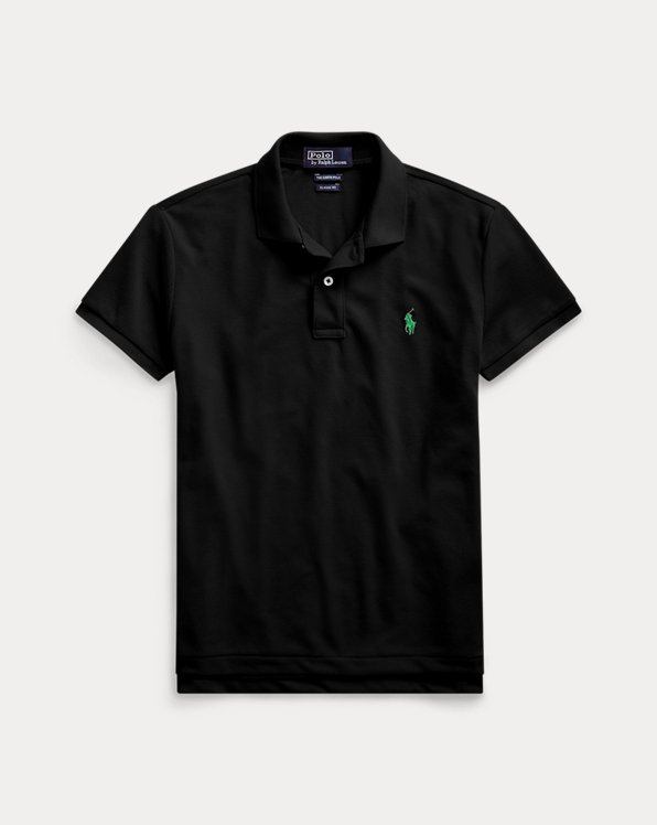 폴로 랄프로렌 우먼 폴로 셔츠 Polo Ralph Lauren The Earth Polo,Polo Black