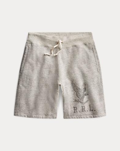 폴로 랄프로렌 Polo Ralph Lauren Cotton-Blend-Fleece Short,Athletic Grey Heather