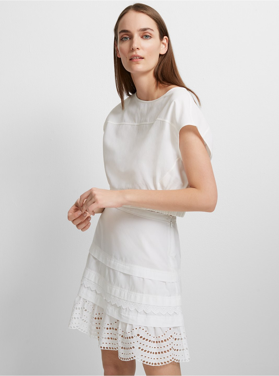 클럽 모나코 Lettee 코튼 스커트 Club Monaco Lettee Cotton Skirt