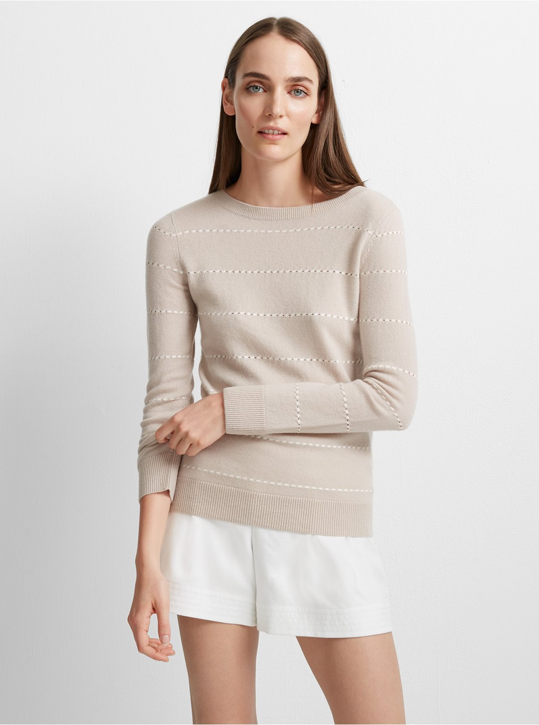 클럽 모나코 Libby 캐시미어 스웨터 Club Monaco Libby Cashmere Sweater,Neutral