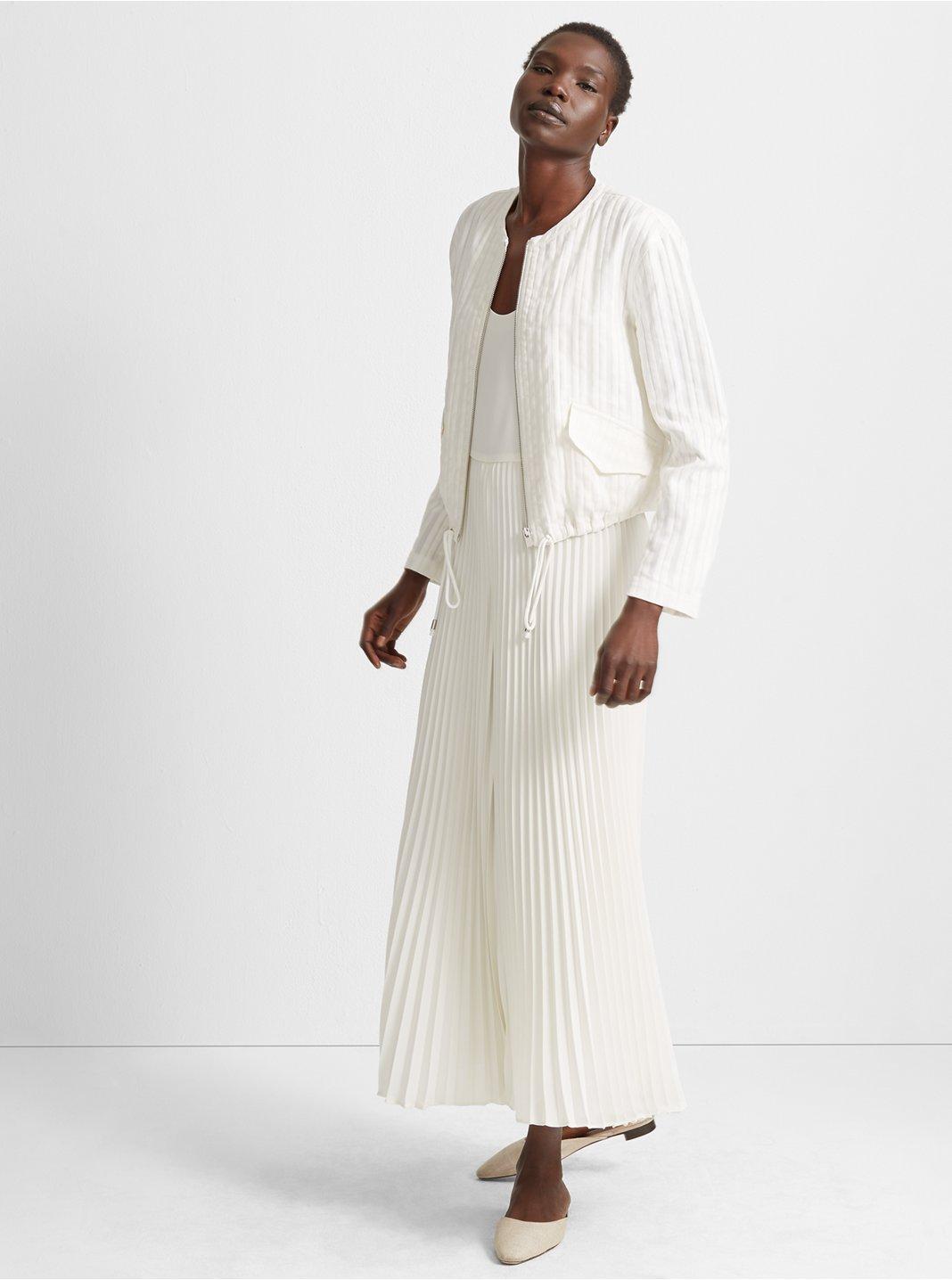 클럽 모나코 Club Monaco Syrinee Jacket,White Multi