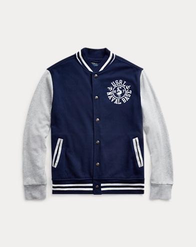폴로 랄프로렌 보이즈 프렌치 테리 야구 자켓 Polo Ralph Lauren Spa Terry Baseball Jacket,French Navy