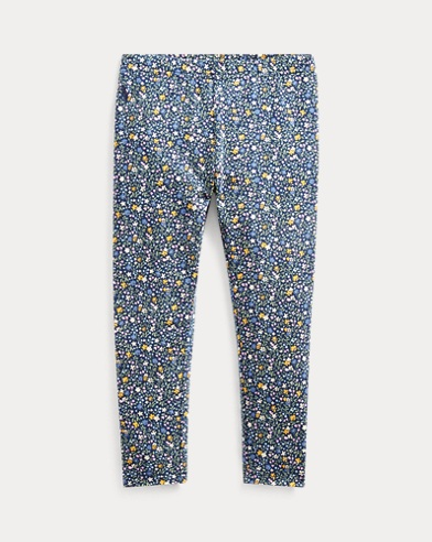 폴로 랄프로렌 Polo Ralph Lauren Floral Stretch Jersey Legging,Navy Floral