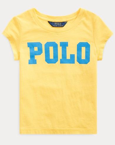 폴로 랄프로렌 Polo Ralph Lauren Logo Cotton Jersey Tee,Sunfish Yellow