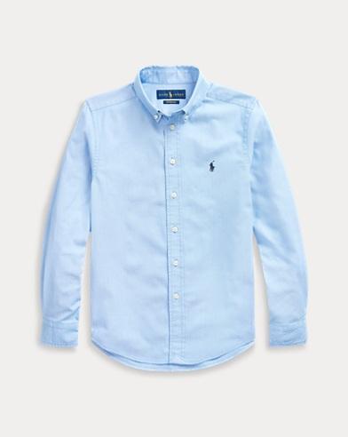 폴로 랄프로렌 Polo Ralph Lauren Performance Oxford Shirt,Performance Blue