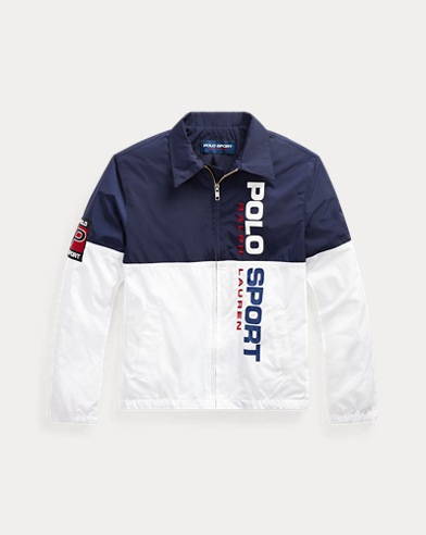 폴로 랄프로렌 보이즈 바람막이 Polo Ralph Lauren Polo Sport Windbreaker,Newport Navy/Pure White