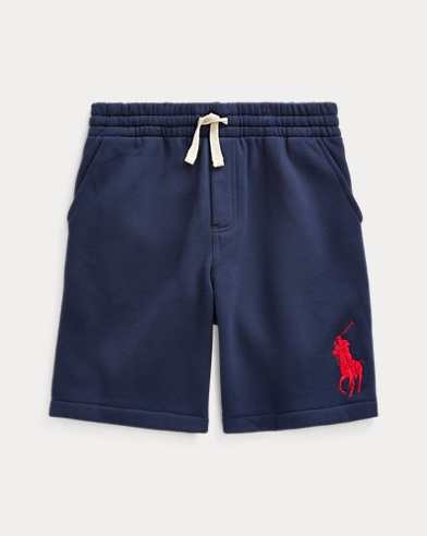 폴로 랄프로렌 보이즈 반바지 Polo Ralph Lauren Big Pony Fleece Short,French Navy