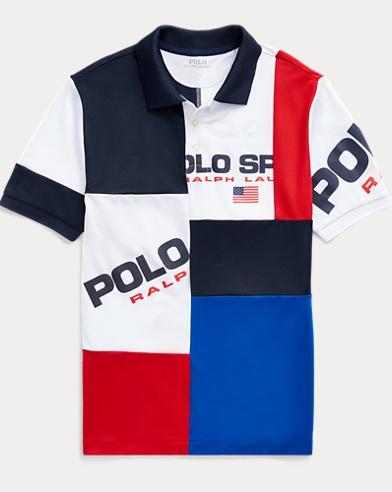 폴로 랄프로렌 Polo Ralph Lauren Polo Sport Performance Polo,Cruise Navy Multi
