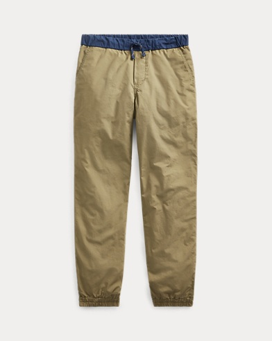 폴로 랄프로렌 보이즈 조거 팬츠 Polo Ralph Lauren Cotton Poplin Jogger,Basic Olive