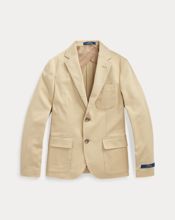 폴로 랄프로렌 보이즈 자켓 Polo Ralph Lauren Stretch Chino Suit Jacket,Coastal Beige