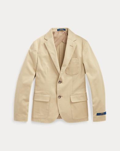 폴로 랄프로렌 보이즈 수트 자켓 Polo Ralph Lauren Stretch Chino Suit Jacket,Coastal Beige