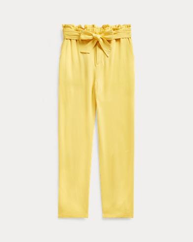 폴로 랄프로렌 Polo Ralph Lauren Twill Paperbag Pant,Sunfish Yellow