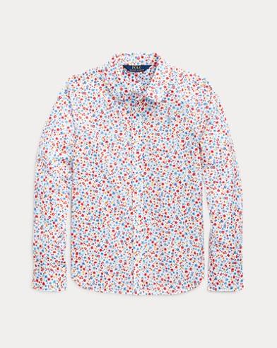 폴로 랄프로렌 Polo Ralph Lauren Floral Cotton Batiste Shirt,Mallorie Floral