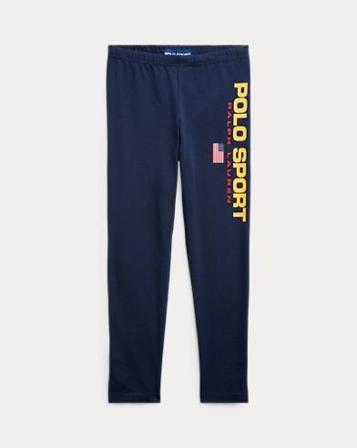 폴로 랄프로렌 Polo Ralph Lauren Polo Sport Jersey Legging,Cruise Navy