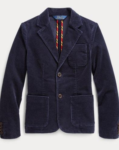 폴로 랄프로렌 Polo Ralph Lauren Stretch Cotton Corduroy Blazer,French Navy