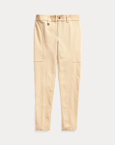 폴로 랄프로렌 Polo Ralph Lauren Stretch Cotton-Blend Legging,Fall Khaki