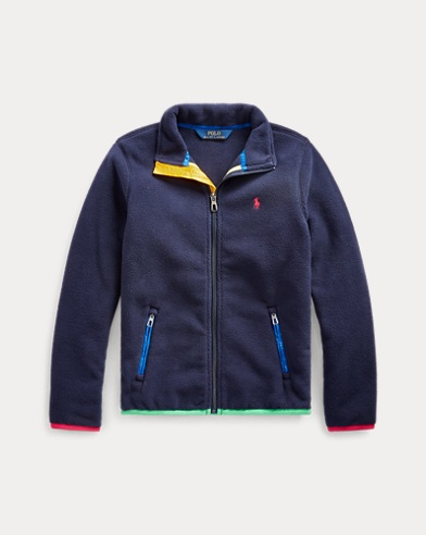 폴로 랄프로렌 걸즈 자켓 Polo Ralph Lauren Polar Fleece Jacket,French Navy
