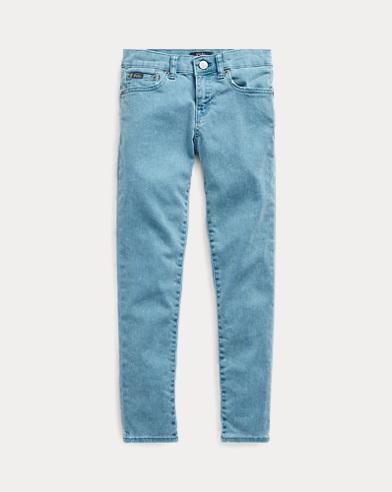 폴로 랄프로렌 Polo Ralph Lauren Tompkins Skinny Fit Jean,Blue