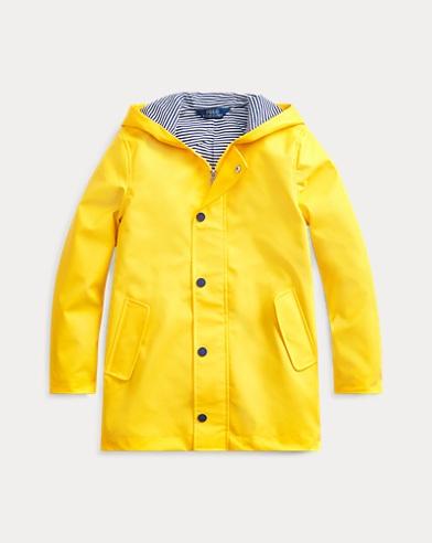 폴로 랄프로렌 Polo Ralph Lauren Hooded Raincoat,Yellowfin