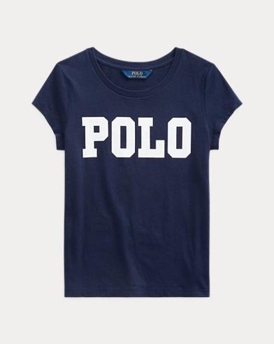 폴로 랄프로렌 Polo Ralph Lauren Logo Cotton Jersey Tee,French Navy