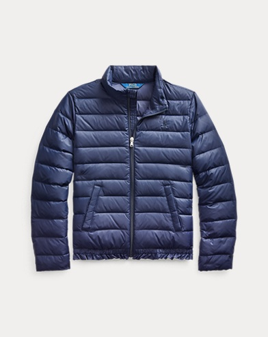 폴로 랄프로렌 걸즈 자켓 Polo Ralph Lauren Quilted Down Jacket,French Navy